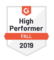 G2 - CIENCE High Performer Fall 2019 Badge