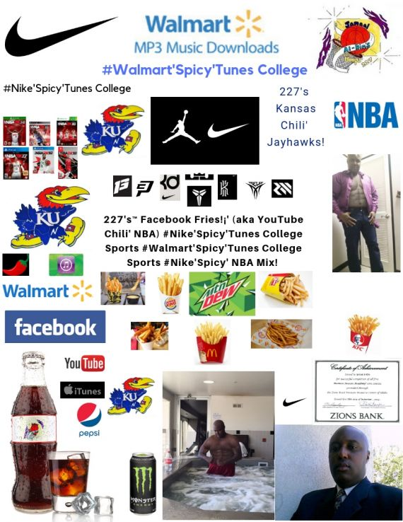 227's™ YouTube Chili' #NIKE'Spicy'Tunes #Jayhawks'Spicy' Snoop Chili' Dogg NBA