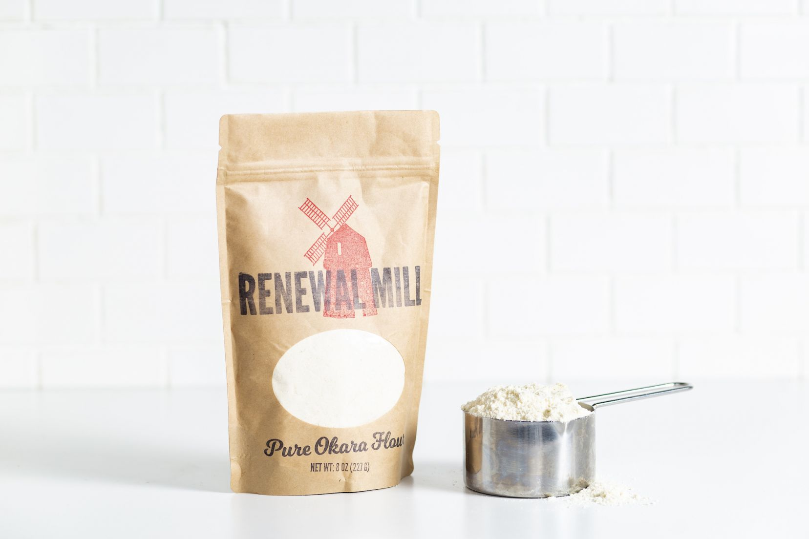 Renewal Mill Flour Bag with Cup