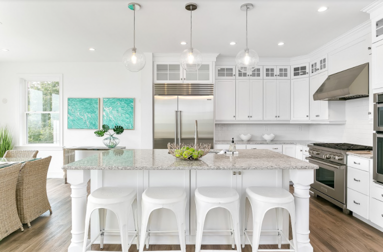 Award-Winning Compo Beach House Kitchen