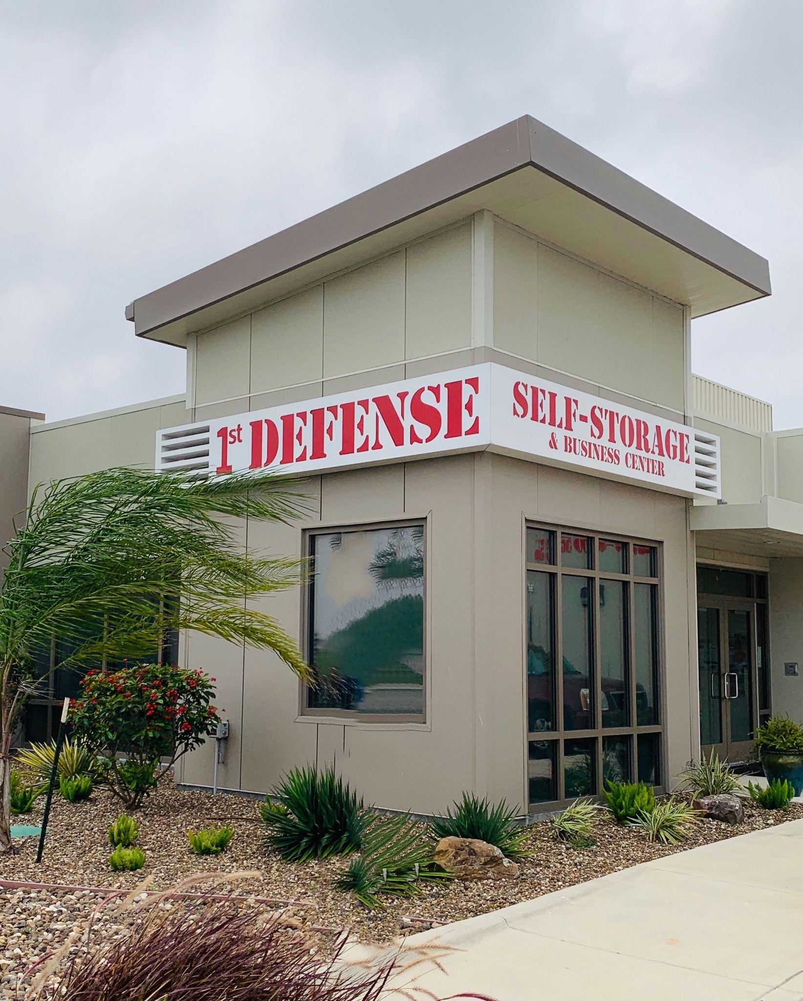 1st Defense Self-Storage: First In Defense - First In Surveillance