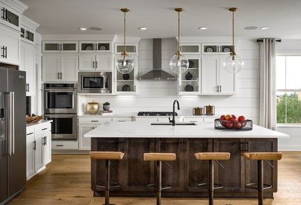 Toll Brothers Model Kitchen