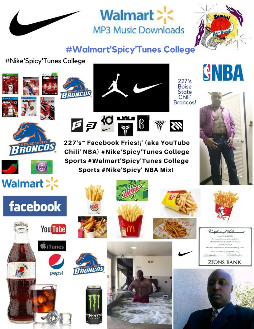 227's™ YouTube Chili' Undefeated Boise State 6-0! #NIKE'Spicy' NFL Spicy' NBA!