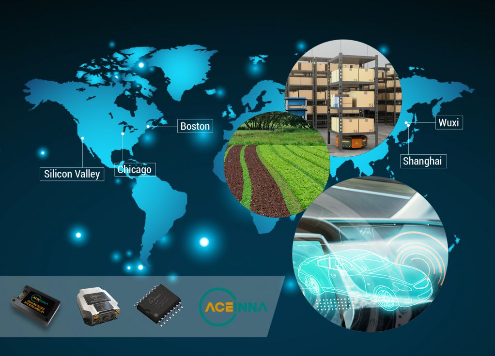 ACEINNA provides sensing solutions for automotive, industrial, telecom markets