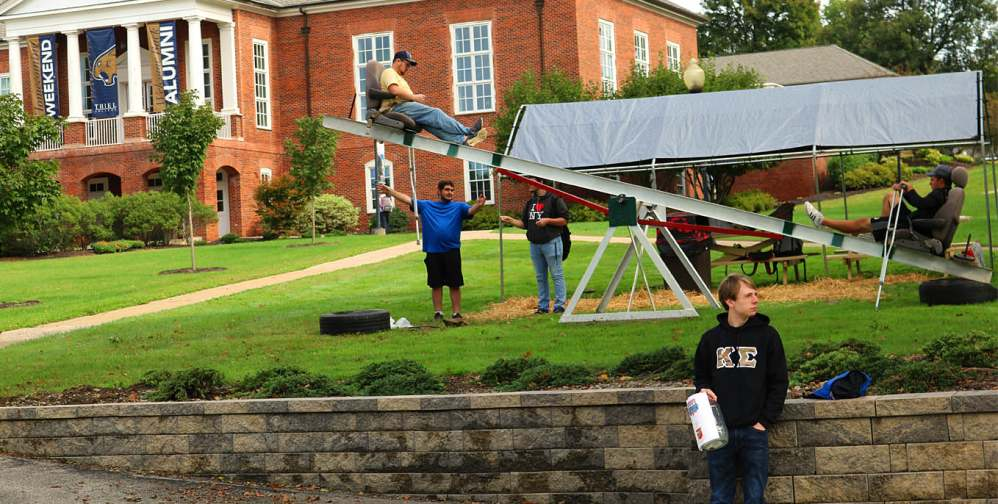 Kappa Sigma at Thiel celebrates 25th year of fundraising for Military Heroes