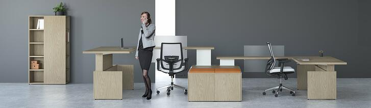 Lizell offers a range of office furniture for today's workplace