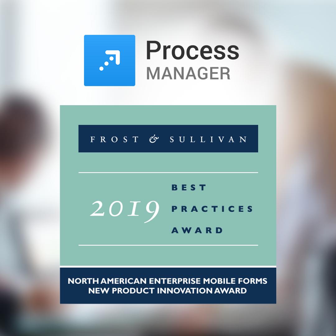 Process Manager wins Frost & Sullivan Innovation Award