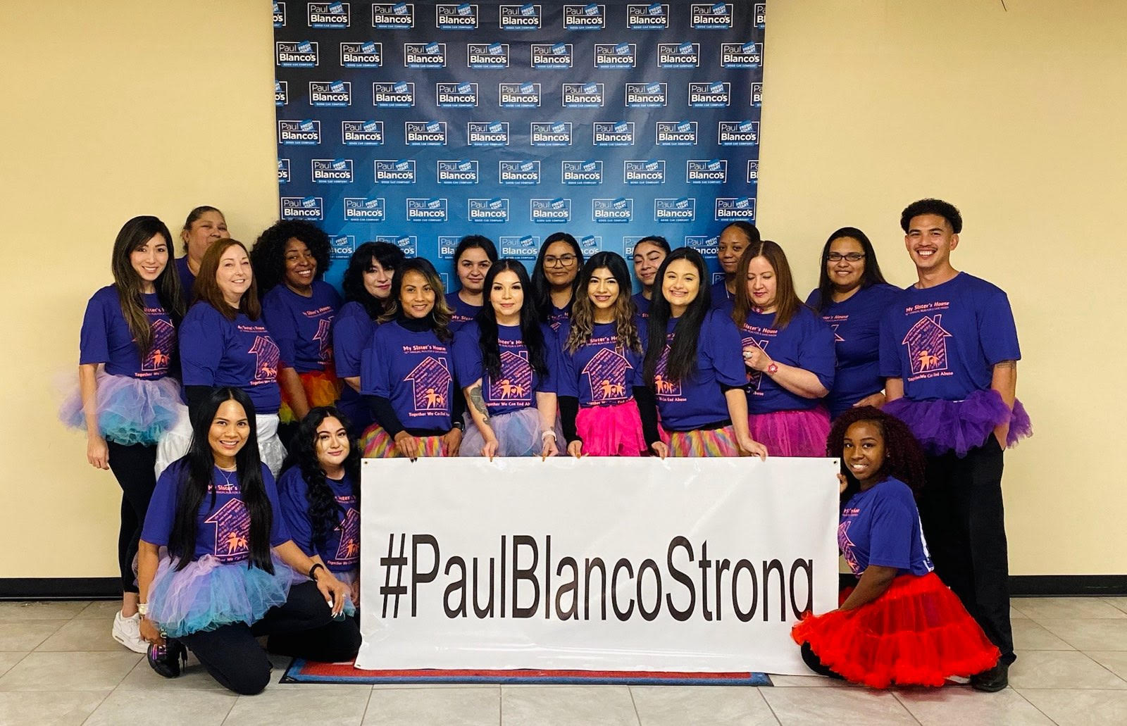 Paul Blanco's Corporate Team