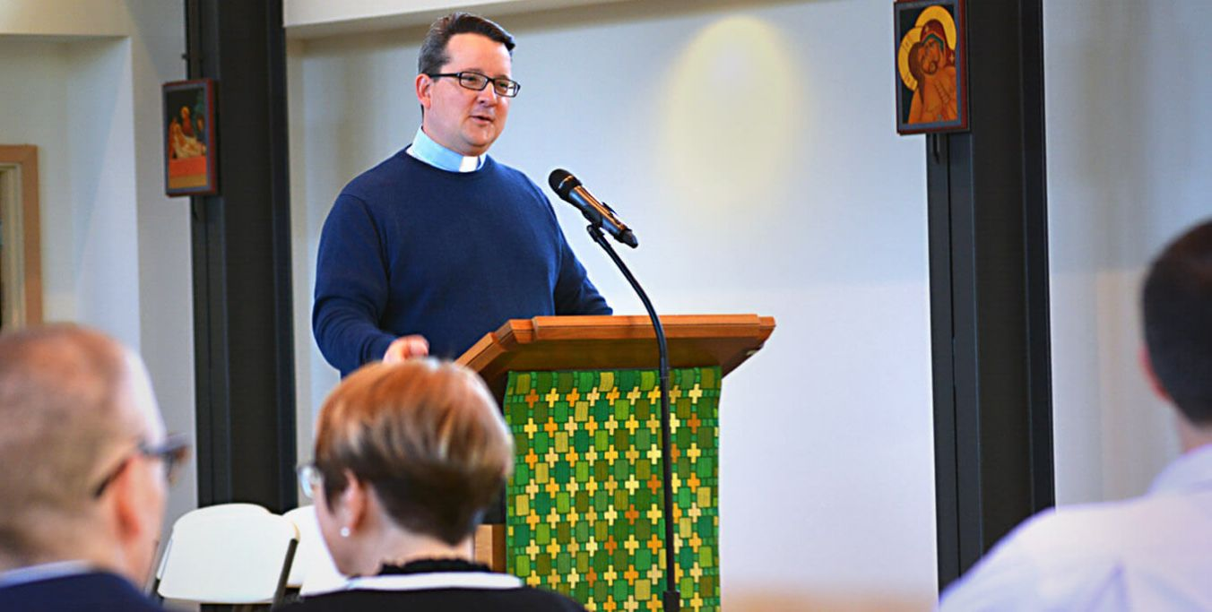 Thiel College welcomes alumnus Brian Riddle '07 who will serve as campus pastor.