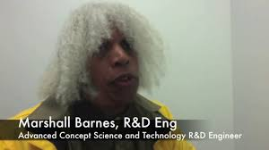Marshall Barnes, R&D Eng: Solved the conundrums of time travel.