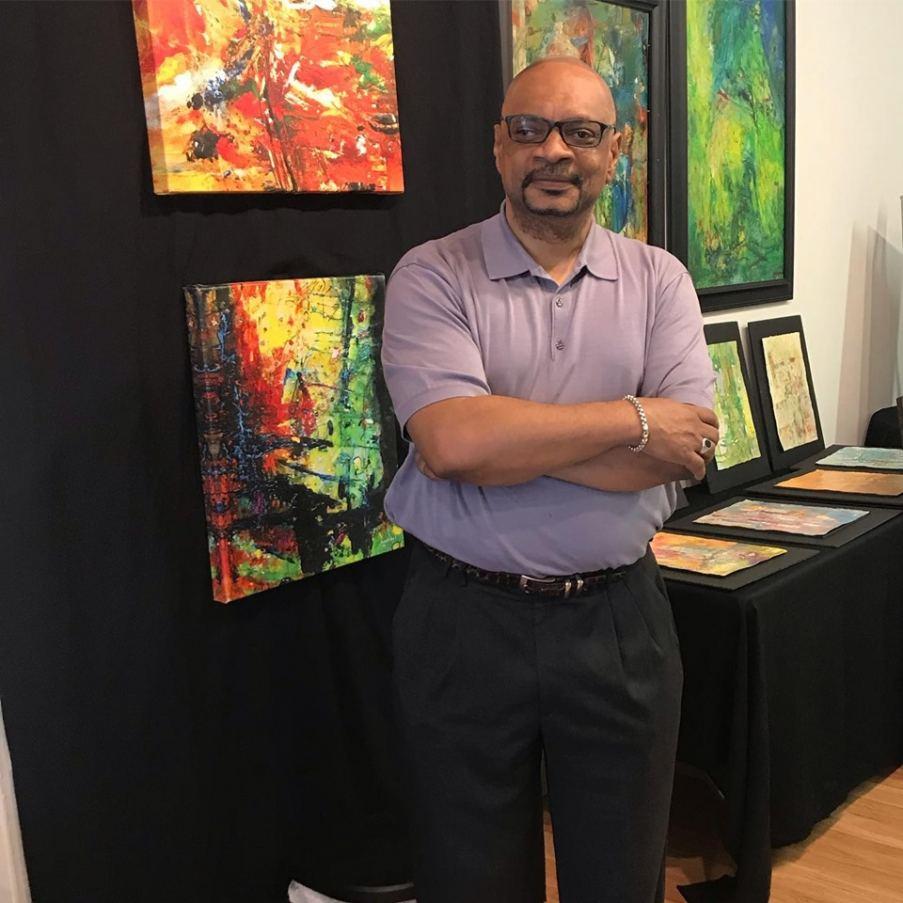 Artist Frank Kelley Jr.