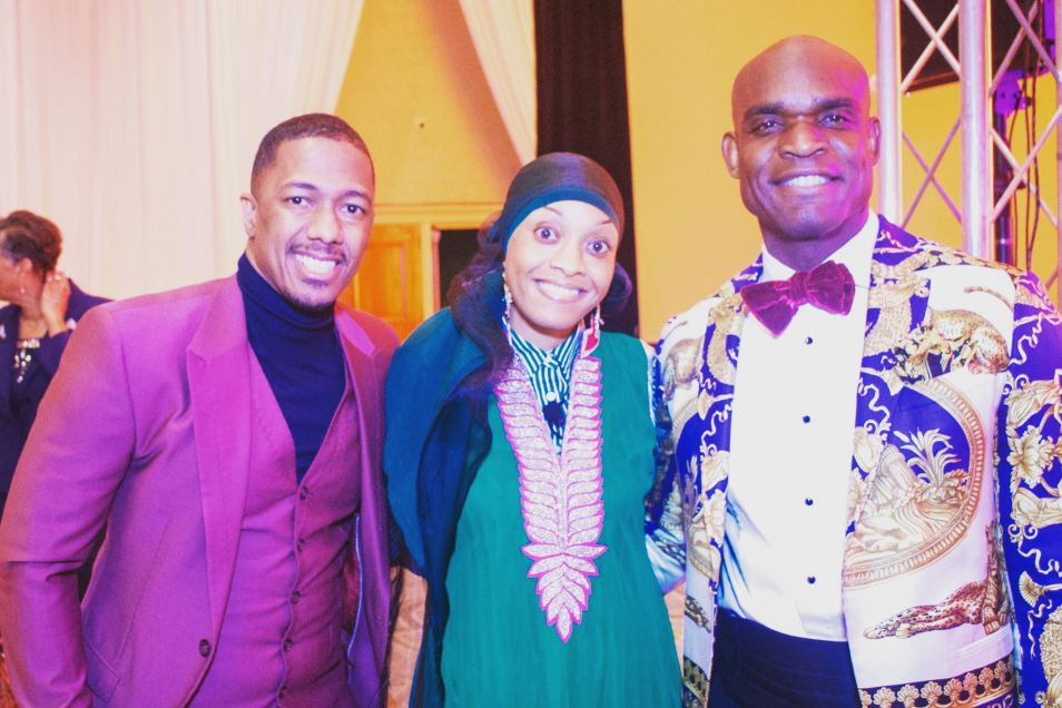 Congratulations honorees Nick Cannon &  Dr. Muhammad for exemplary work.