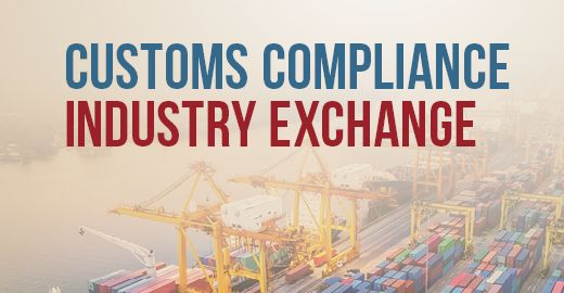 Customs Compliance Industry Forum     Nov. 20-21, 2019  I  Washington, DC
