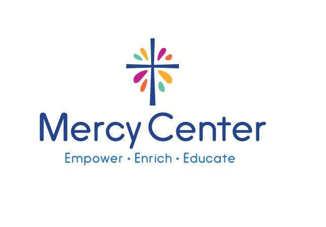 The new Mercy Center logo.