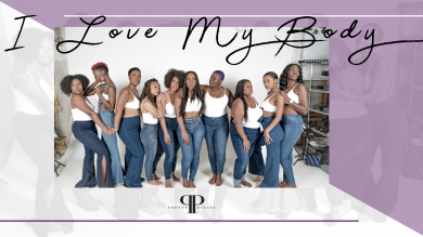 """Pretty Pieces """"I Love My Body"""" Denim Campaign Photo"""