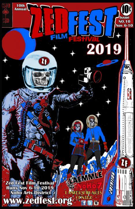 Zed Fest Film Festival 2019 Event Poster