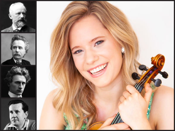 Violin Virtuso Aubree Oliverson Opens PCO's First Concert of the Season