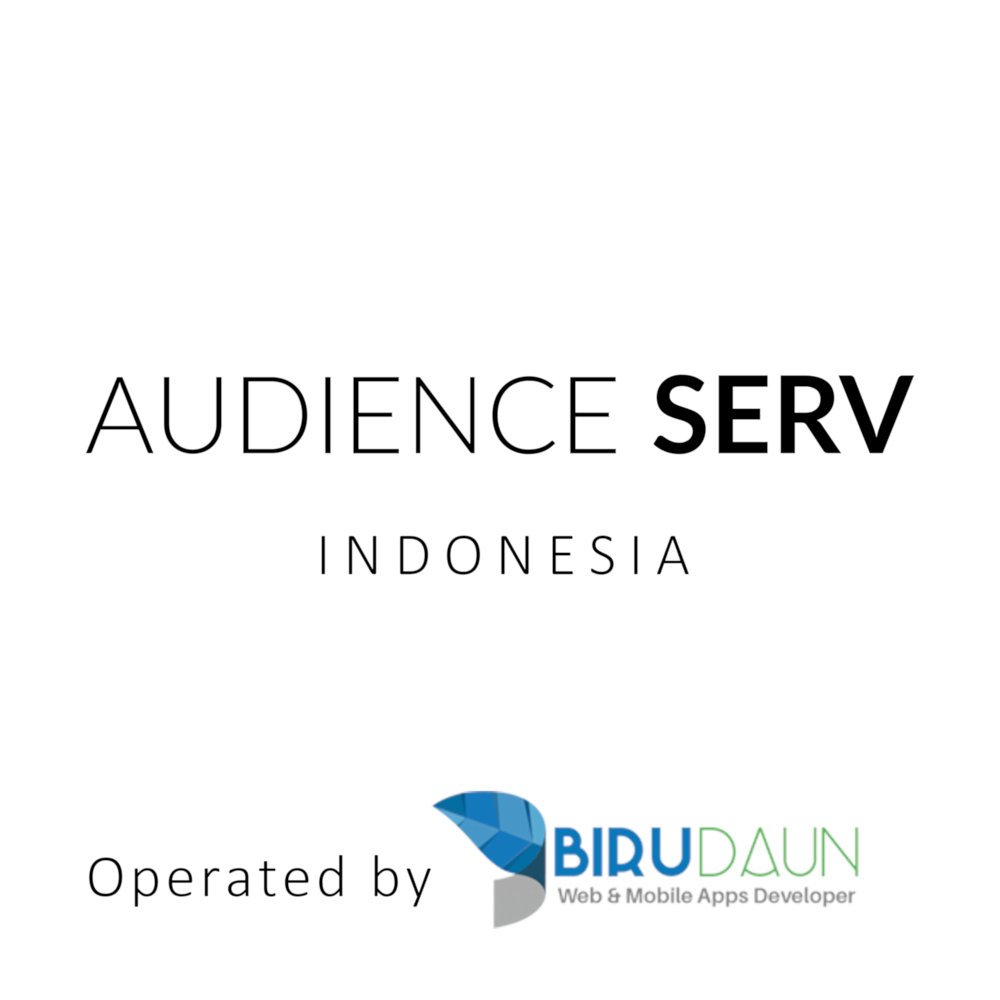 Audience Serv Indonesia, operated by BiruDaun & Celax Digital