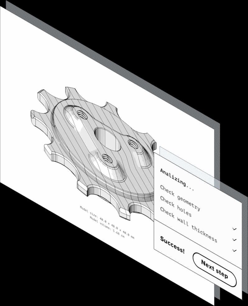 Design for manufacturing check