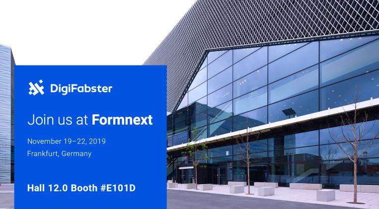 Formnext 2019: DigiFabster expands its Sales & Execution Software Platform