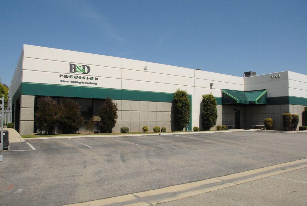 B & D Precision Welding, Pomona, Ca.
