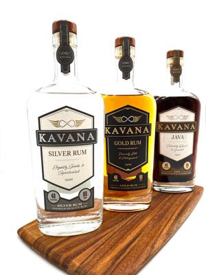 Kavana Rum-Silver/Gold/Java
