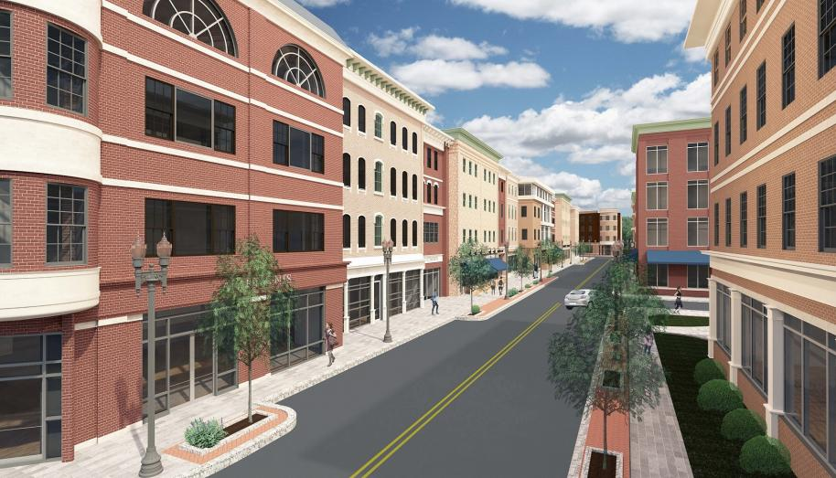 Proposed Derby Downtown multi-use complex