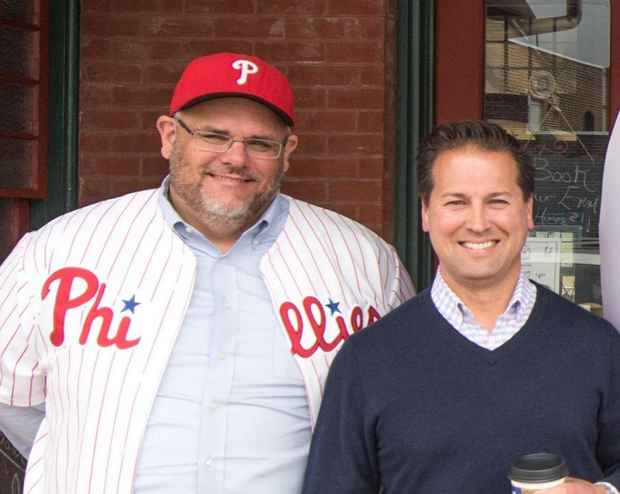 Doug Scullin and Dave Rantanen (L-R)