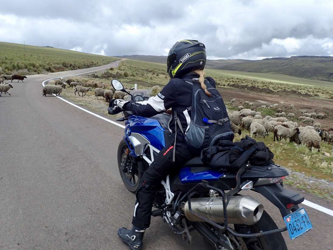 Native Moto Adventures' Jennifer Lovaas on a motorcycle adventure in Peru