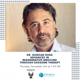 Dr. Duncan Ross: Advances in Regenerative Medicine through Exosome Therapy