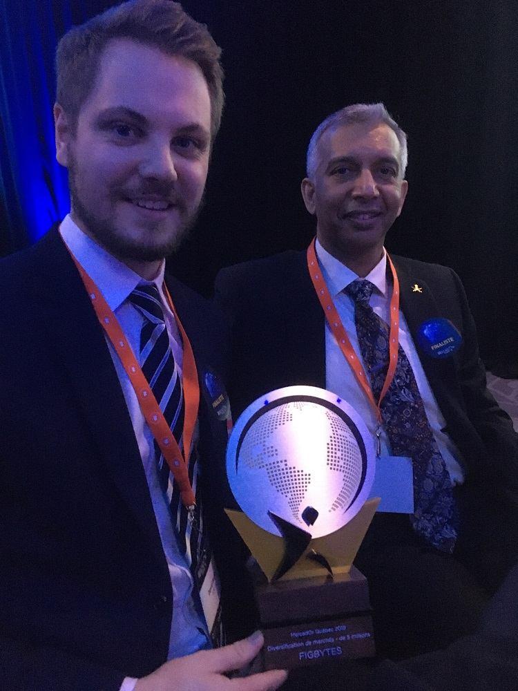 FigBytes wins MercadOr Provincial Export Award