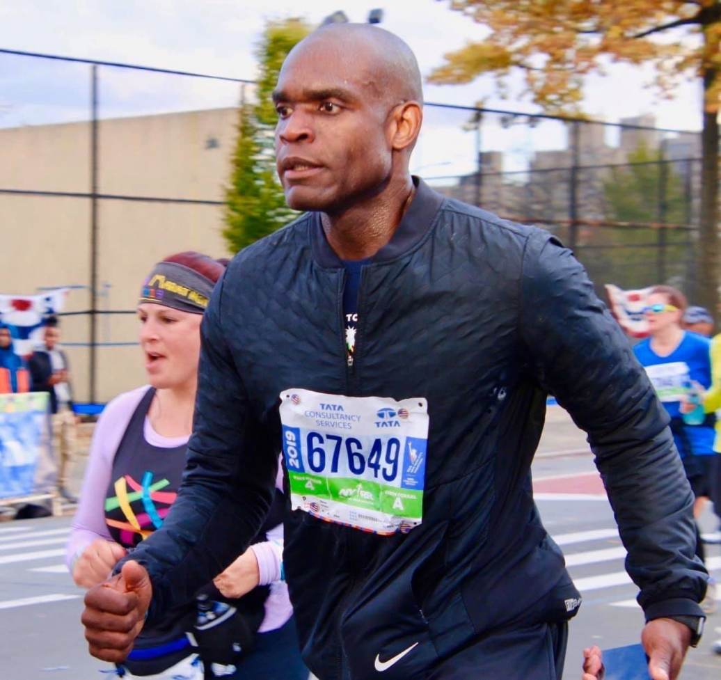 Dr. Lawrence will run the Philadelphia Marathon to support cancer research.