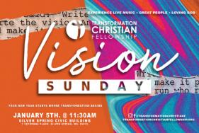 Transformation Christian Fellowship Vision Sunday 2020