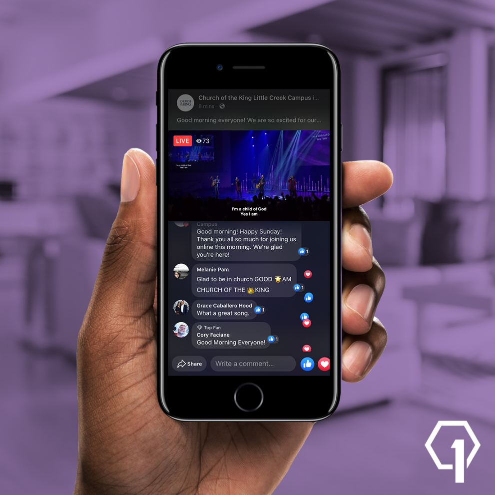 1080p Facebook Streaming Through Living As One