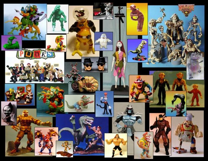 Action figures designed by David Arshawsky