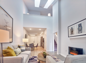 The Grande at Metropark is now offering two-story penthouse lofts with dens.