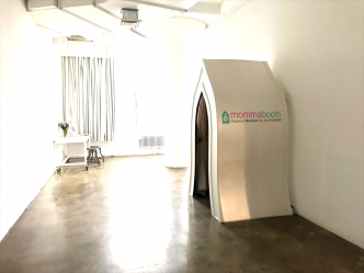 """BuddhaBooth partners with MommaWork for """"MommaBooth""""  lactation space solutions."""