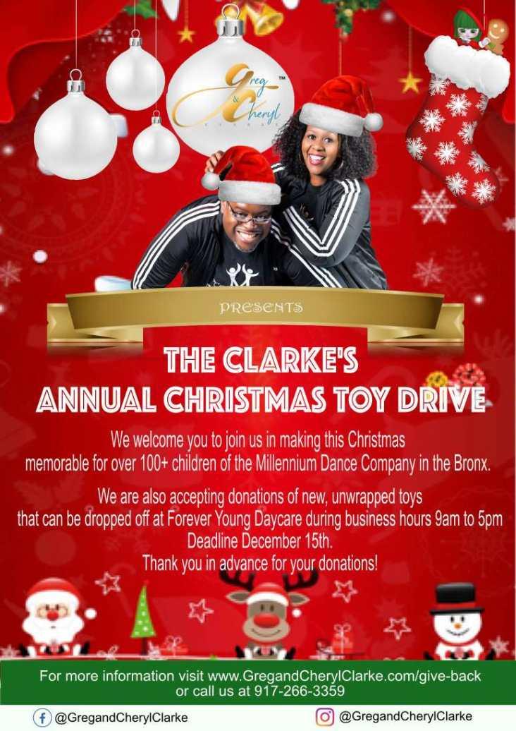 Clarke's Toy Drive 2019