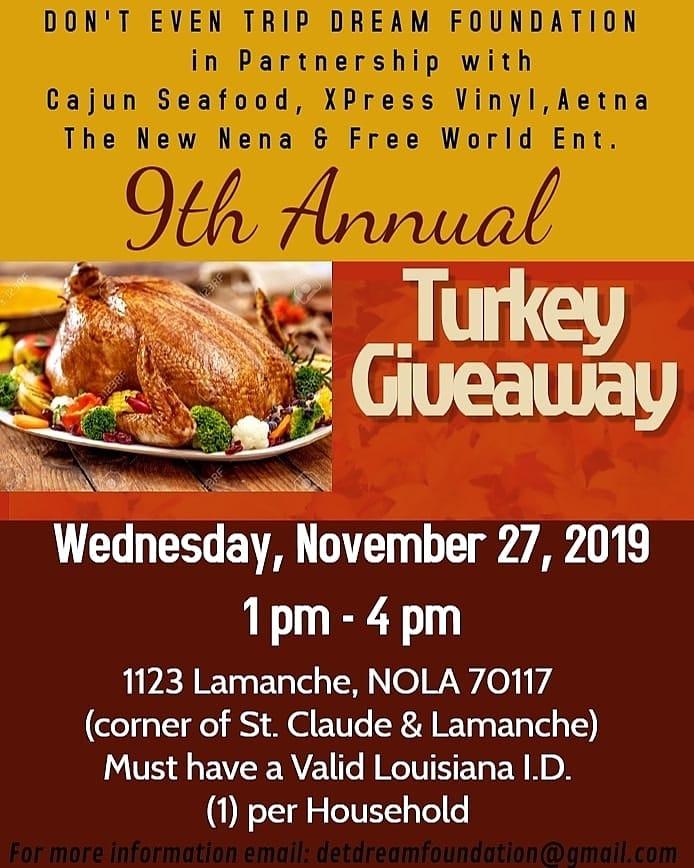 DET Turkey Giveaway