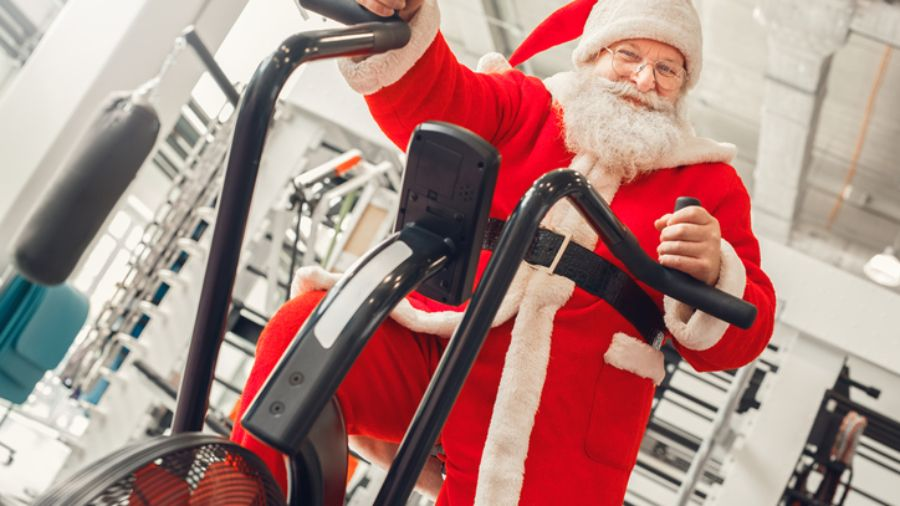 Dress as a Claus when you Commute for a Cause!