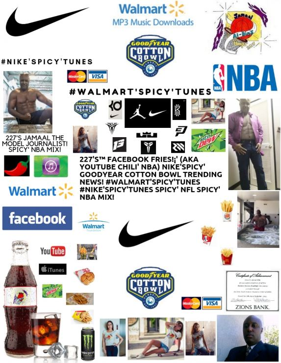 227's YouTube Chili' GOODYEAR COTTON BOWL Trending News! #NIKE'Spicy' NBA Mix!