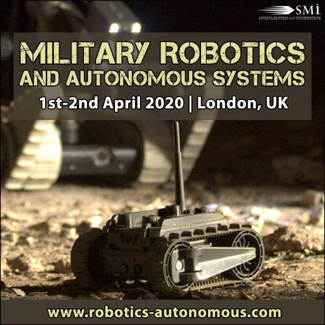 Military Robotics and Autonomous Systems 2020