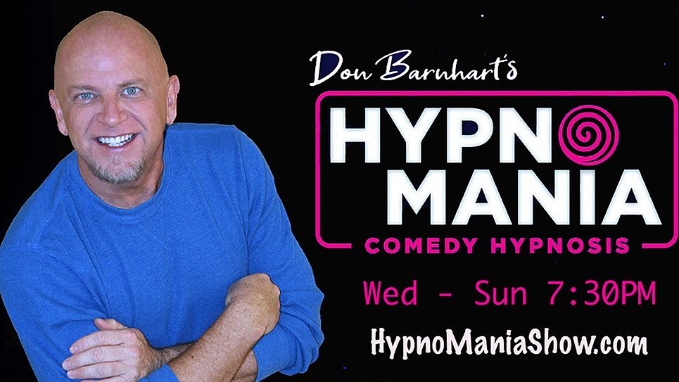 Don Barnhart's Hypnomania Show Is Perfect For Your Holiday Or Office Party