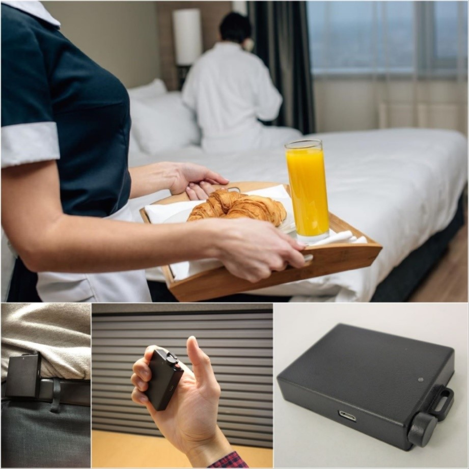 AVANTE hotel panic button system is proven for accuracy and least false alarm