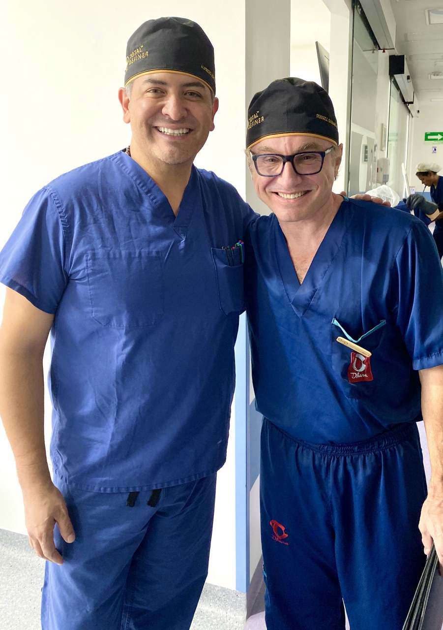 Dr. Sassani and Dr. Hoyos