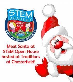 Traditions at Chesterfield and Stem Academy will host an Open House on Dec. 8.