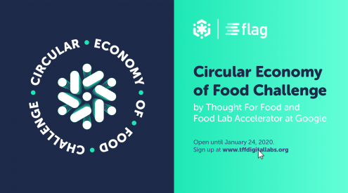 The TFF x FLAG Circular Economy of Food Challenge