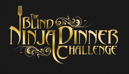 The Blind Ninja Dinner Challenge Logo