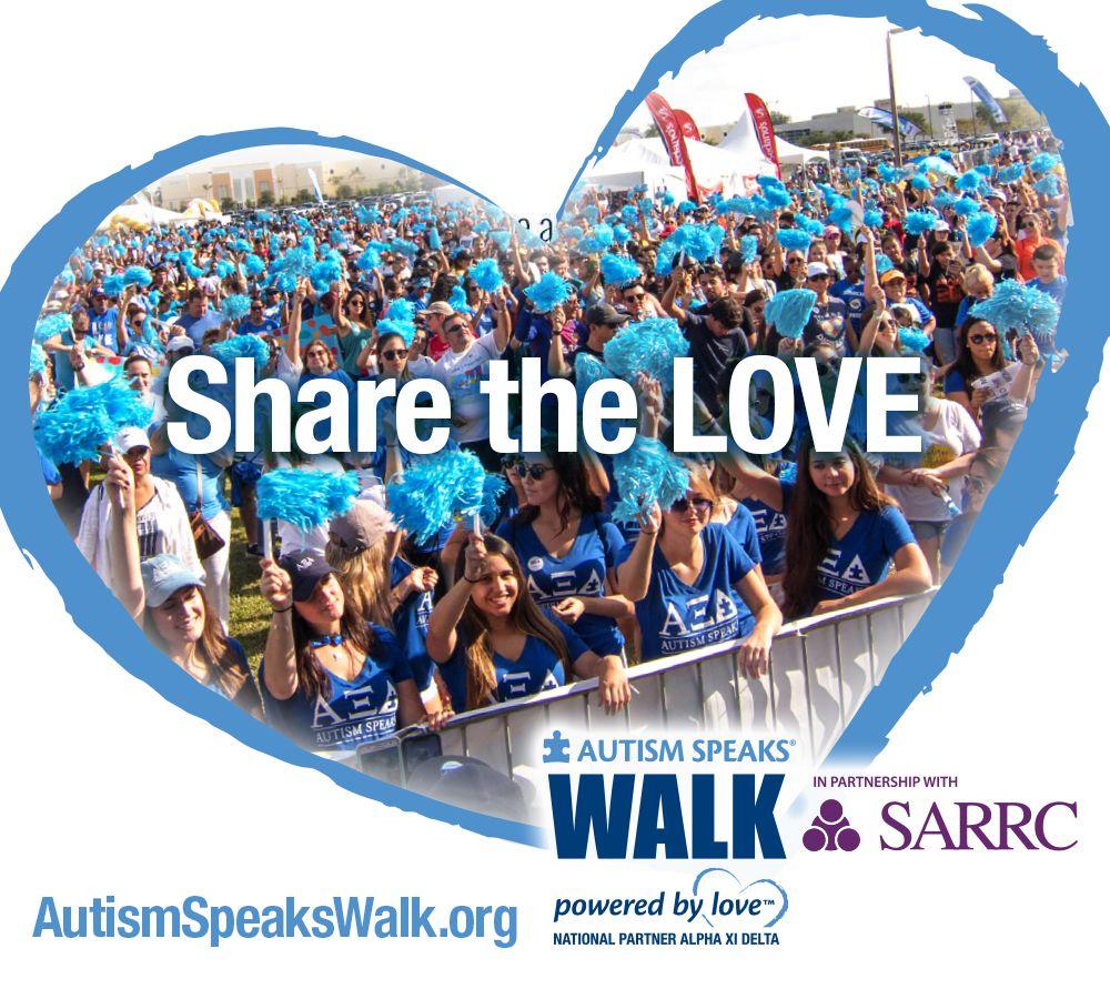 Autism Speaks Walk in Partnership with SARRC