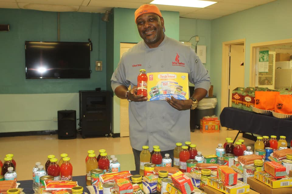 Chef Irie's 2019 Thanksgiving Giveaway at L.A. Lee YMCA - Ft Lauderdale, FL.